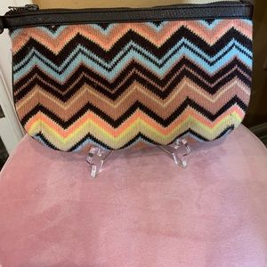 MISSONI Herringbone Knit Clutch